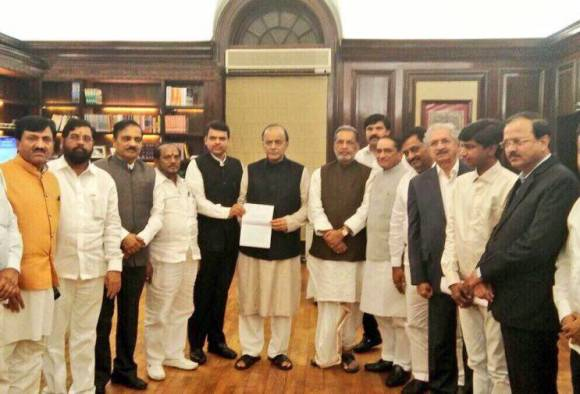 Maharashtra's delegation meeting with Finance Minister