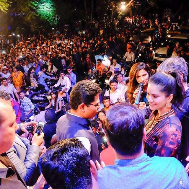 Sunny Leone shares her event photos