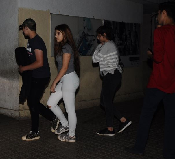 aarav kumar spotted with friends