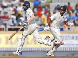 राहुल आणि पुजाराची टिच्चून फलंदाजी, उपहारापर्यंत भारत 1 बाद 64 धावा