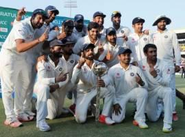 आयसीसी क्रमवारीत टीम इंडियाचं अव्वल स्थान आणखी भक्कम