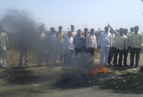 Grourn Report of Shivse village which opposed to Samruddhi Highway latest updates