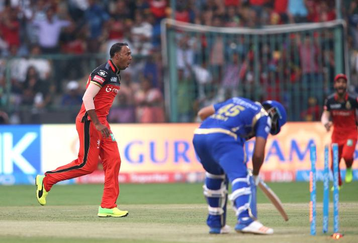 samuel badree took the first hat trick and first maiden over of ipl 2017