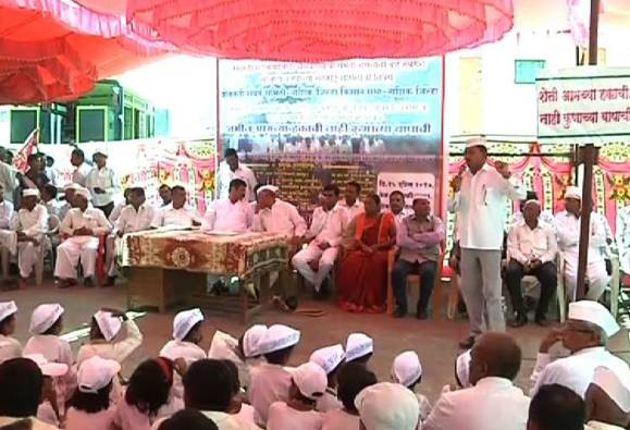 Samruddhi highway protesters farmers angry on Shivsena