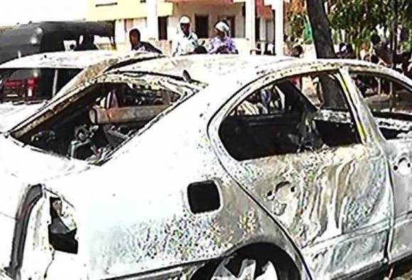 two four wheeler burn in nashik latest update