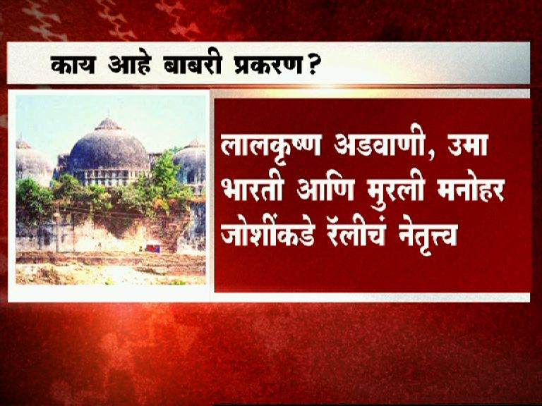 what is babri masjid demolition case latest updates