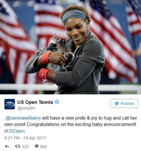 tennis star serena williams pregnant