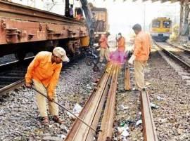 मुंबईत मध्य आणि ट्रान्स हार्बर रेल्वेमार्गांवर आज मेगाब्लॉक