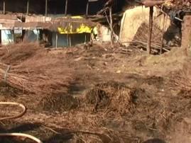 भंडाऱ्यातील कार्कापुरात अग्नितांडव, गावकऱ्यांना भानामतीचा संशय