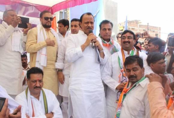 dilip tiwari blog on oppositions sangharshyatra in khandesh