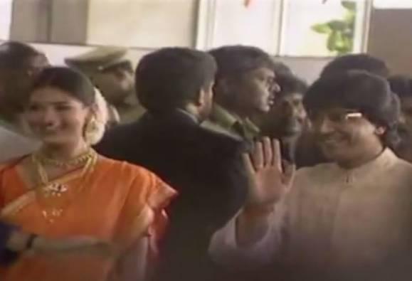 Raj Thackeray, Sonali Bendre