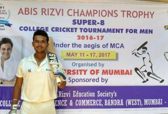 Rudra Dhande's double century in T 20 latest updates