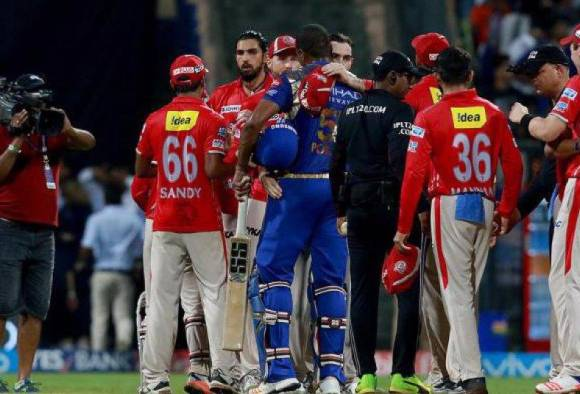 last 12 balls of mumbai vs kings xi punjab close encounter latest update