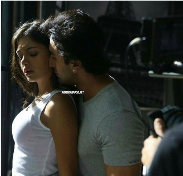 pictures of ranbir kapoor romancing a girl have hit the internet like a storm
