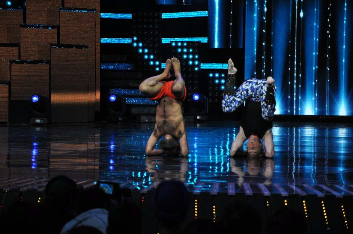 baba ramdev on nach baliye set