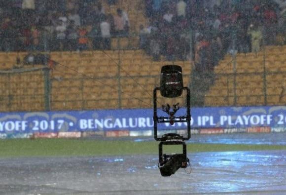 SRH vs KKR Match Interrupted Due To Rain latest update