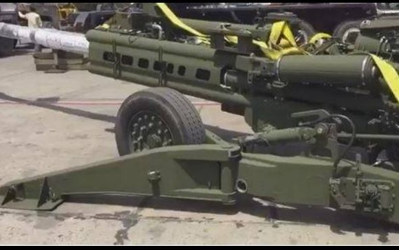 american m 777 ultra light howitzer guns inducted by indian-army