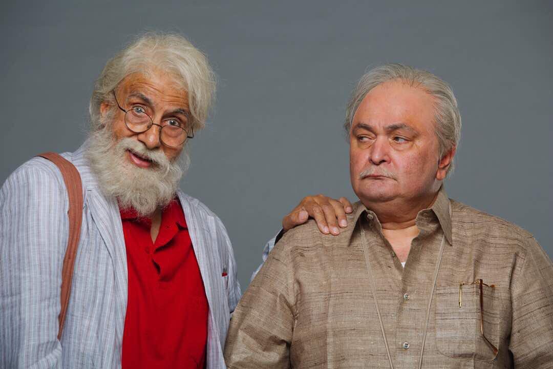 Amitabh Bachchan and Rishi Kapoor