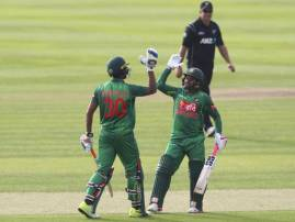 बांगलादेशकडून न्यूझीलंडचा 5 विकेट राखून धुव्वा