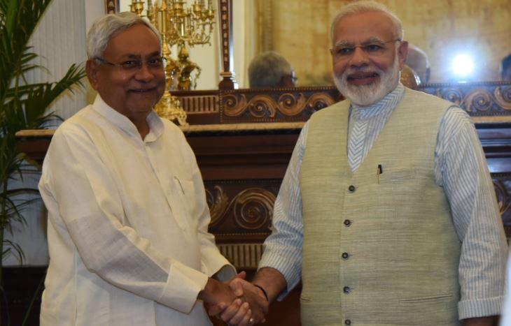 Nitish Kumar & Modi