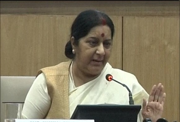 foreign minister sushma swaraj on 3 years report card of modi governments decision about foreign affairs