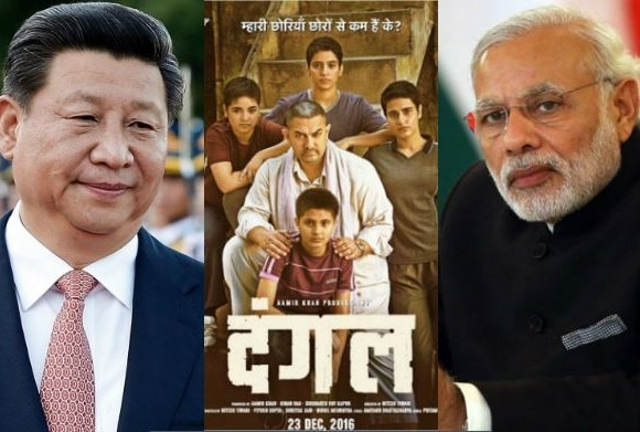 chines president said to pm modi i watched dangal movie and i liked it very much