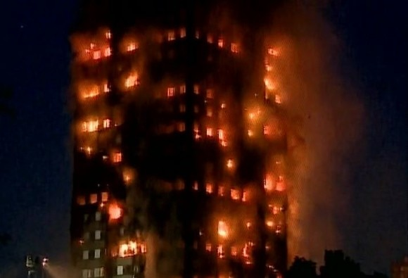 40 fire engines 200 firefighters have been called to the lancaster west estate tower block fire