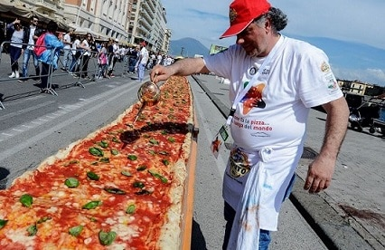 World largest Pizza in California latest updates