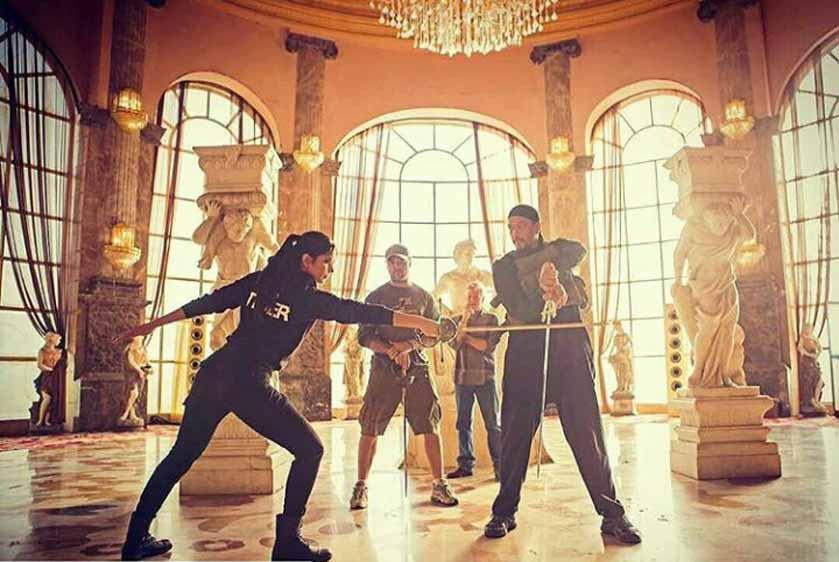 see pics Katrina kaif trains for tiger zinda hai action scenes
