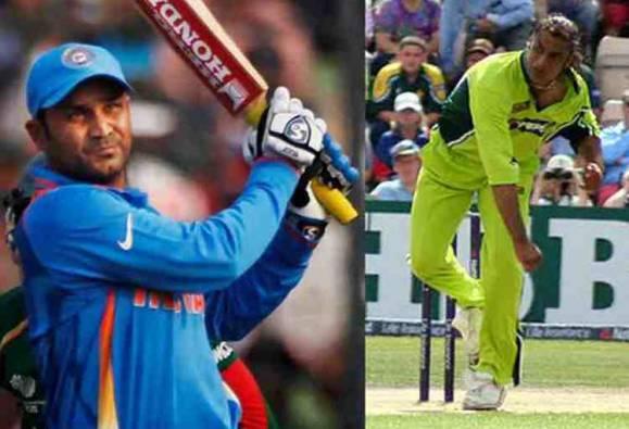Sachin Tendulkar vs Shoaib Akhtar,  Baap vs Beta, when sehwag said beta  beta hota hai to shoaib akhtar