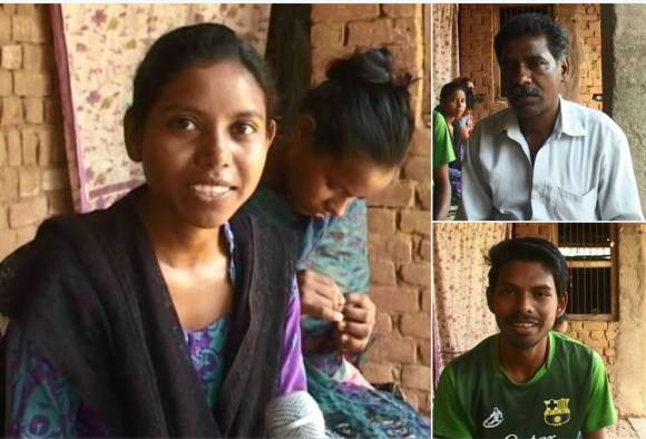 Gondia : A Unique family has names of countries live update