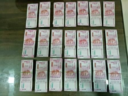 duplicate notes seized in thane worth rs. 10 lakhs