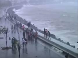 मरिन ड्राईव्हच्या कट्ट्यावर बसलेल्या विद्यार्थिनीचा समुद्रात बुडून मृत्यू