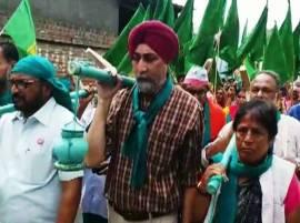 राजू शेट्टींची किसान मुक्ती यात्रा, मेधा पाटकर, योगेंद्र यादवही सहभागी