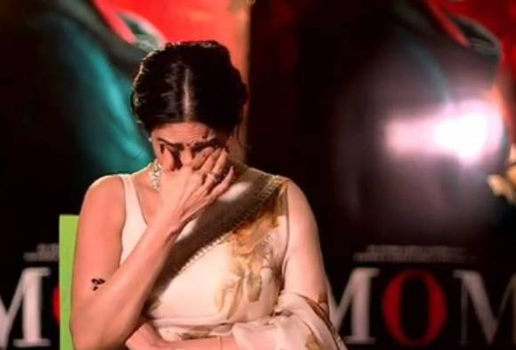 sridevi cried says she is missing her onscreen daughter sajal ali