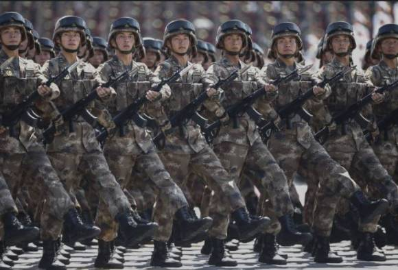 china to downsize army to under a million in biggest troop cut in its history