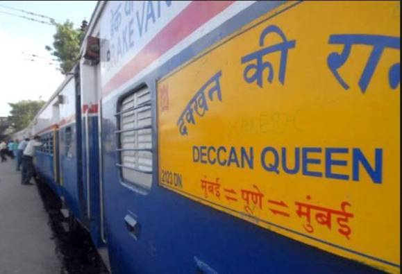 Those women are anti-national who protest against Deccan Queen rail latest updates