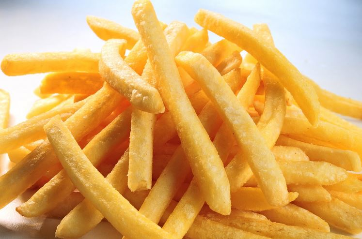 french fries is not for good health research