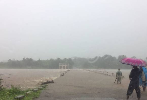 Kalu river flood, 15 villages lost contact latest update