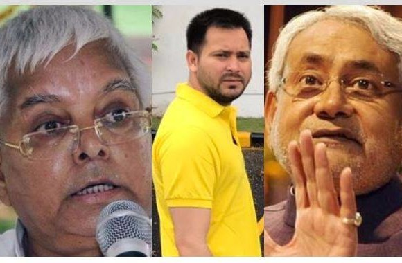 rjd jdu rift lalu nitish clash over tejashwi latest updates
