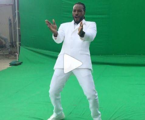 Cricketer Chris Gayle dance on Sunny Leone song