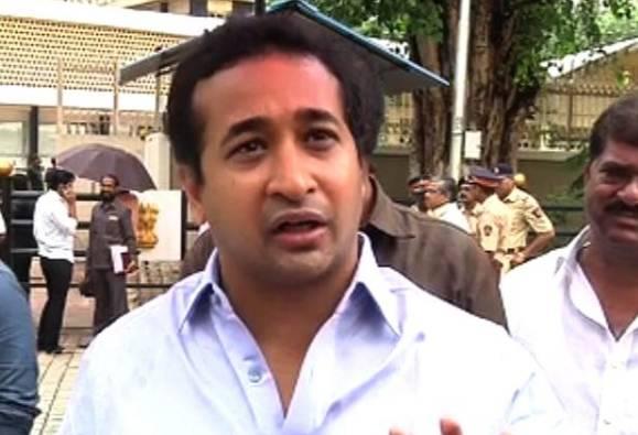 Mumbai : Nitesh Rane speaks on Congress' protest over Indu Sarkar latest update