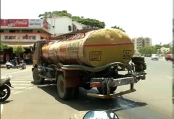 water supply to tankers in 6 of the 15 talukas in Nashik district