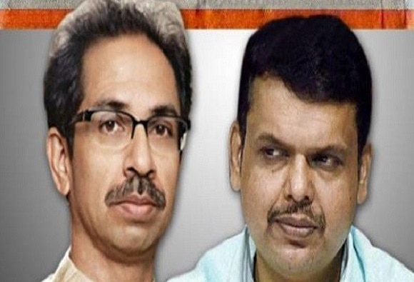 Shivsena's criticized to BJP on Gram Panchayat election result latest update