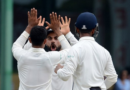 team india beat sri lanka by an innings and 53 runs to seal series 2 0 latest marathi news updates