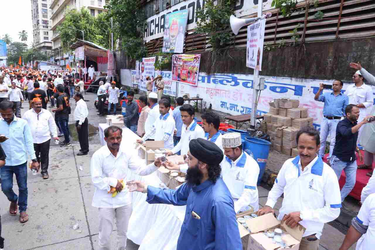 Mumbai maratha morcha HD pics showing discipline