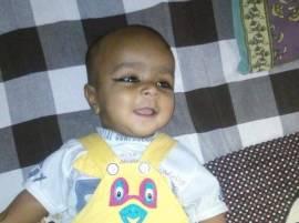 फुगा गिळल्याने 8 महिन्याच्या बाळाचा मृत्यू