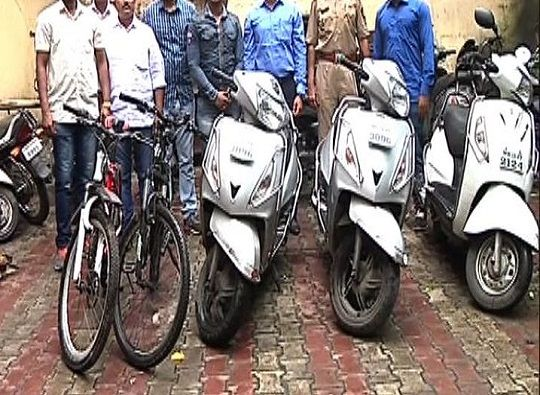 Pune : four school students in upper class families theft bike for fun latest update