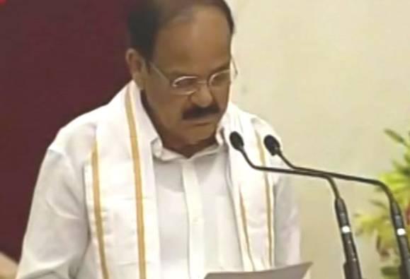 Venkaiah Naidu sworn in as 13th vice president of India