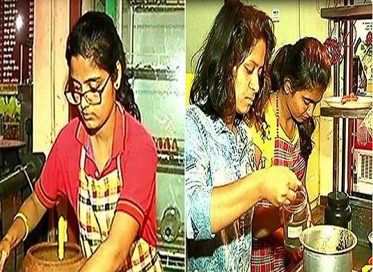 Kolhapur : Panipuri stall by three students in front of Rankala latest update